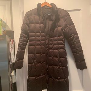 Searle Brown Puffer Coat